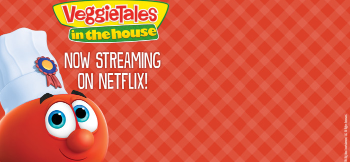 "Professor TenNapel's ""VeggieTales in the House"" Premieres!"