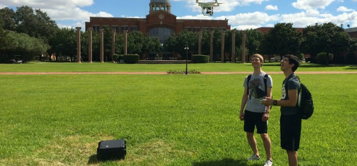New Quadcopter Camera Rig for Students